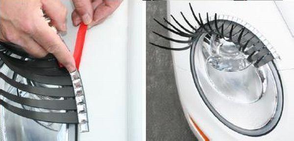 Umelé mihalnice pre auto - diamantová linka | foto: somainkinderland.com