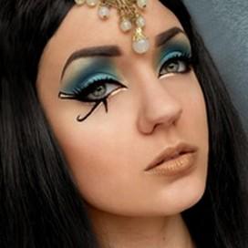 Egyptský očný makeup | fashionncare.com