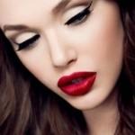 glamour líčenie umelé mihalnice | pinterest.com
