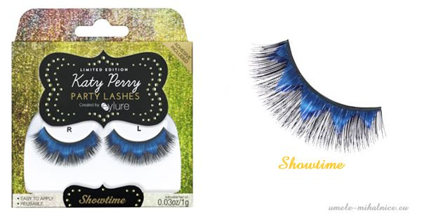 umelé mihalnice pary lashes od katy perry  pre eyelure - showtime