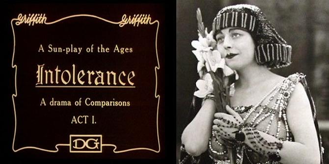 film intolerancia, v ktorom sa objavili prvé umelé mihalnice