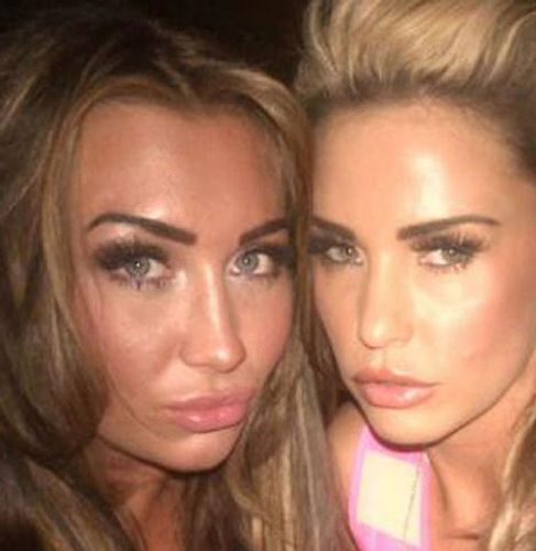 Lauren Goodger a Katie Price fake lashes 3D mihalnice